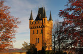 Hohenzollern castle in Swabian, Germany — Foto Stock