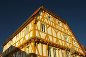 Wood-frame house in Ladenburg near Heidelberg in Germany — Stock Photo