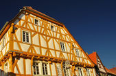 Wood-frame house in Ladenburg, near Heidelberg — Stock Photo
