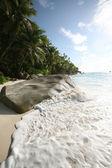 Seychelles beach — Stock Photo