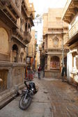 Street view in Indian city — Stock Photo