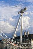 London eye hautnah — Stockfoto
