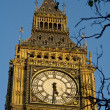 Stock Photo: Close up on Big Ben clock