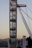 Side view of the London Eye — Stock Photo