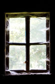 Window in an old house — Stock Photo