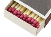 Open a box of matches — Stock Photo