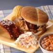 Pulled pork sandwich — Stock Photo #5978792