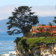 Luxury home along the California coast - Stock Photo