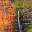 Waipoo falls in Waimea Canyon — Stock Photo