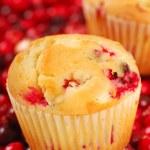 Cranberry Muffins — Stock Photo #5979100