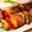 Stock Photo: Shish Kabobs