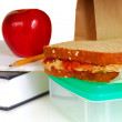 school lunch — Stockfoto