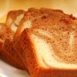 Stock Photo: Slices of pound cake
