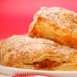 Freshly baked apple turnovers - 图库照片
