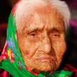 Stock Photo: 99 year old Navajo woman