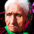 Stock Photo: Elderly Navajo woman