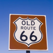 Historic Old Route 66 Sign — Stock Photo