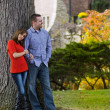 Happy couple spending time together — Stockfoto