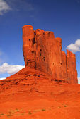 Rock formation found in Monument Valley — Stock Photo
