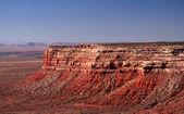 De vermilion cliffs gevonden in het land van de navajo nation van monument — Stockfoto