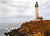 Coastline lighthouse — Stock Photo