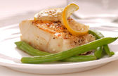 Cod filet — Stock Photo