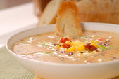 Corn Chowder — Stock Photo
