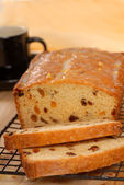 Cherry and raisin bread — Stock Photo
