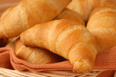 Fresh cresent rolls — Stock Photo