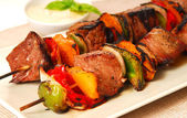 Shish Kabobs — Stock Photo