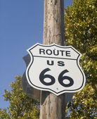 Old Route 66 Sign — Stock Photo