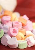 Valentine's Day candy — Stock fotografie