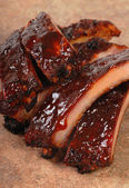 Delicious BBQ ribs — Stock Photo