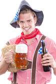 Image of a bavarian man — Stock Photo