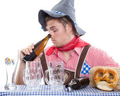 A traditional man — Stock Photo