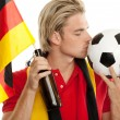 German soccer — Foto Stock