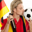 German soccer — Foto de Stock