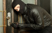 Robber with — Stock Photo