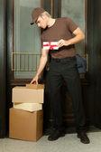 Deliveryman — Stock Photo