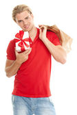 Attractive young man — Stock Photo