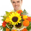 Stock Photo: Closeup flowers