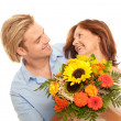 Stock Photo: Flowers to motherday