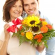 Closeup motherday — Stock Photo