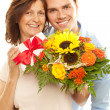 Stock Photo: Closeup motherday