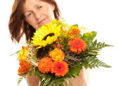Motherday closeup flowers — Stock Photo
