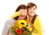 Surprise motherday — Stock Photo
