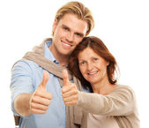 Thumb up for — Stock Photo