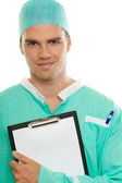 Good looking doctor — Stock Photo