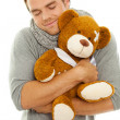 Stock Photo: Cuddly toy man