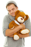 Cuddly toy man — Stock Photo